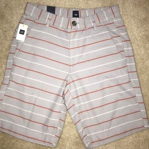 Gap Striped Shorts Size 28 NWT